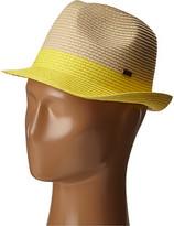 Roxy Monoi Straw Fedora Hat