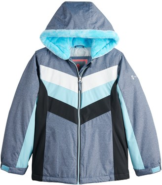 Free Country Girls 4-16 Radiance Chevron Colorblock Jacket
