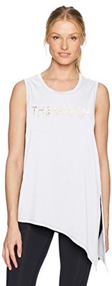 Jessica Simpson The Warm Up by Women's Graphic Side Tie Tank