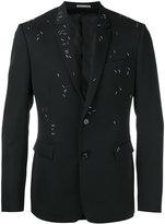 Christian Dior embellished blazer - men - Polyurethane/Cupro/Wool/metal - 50