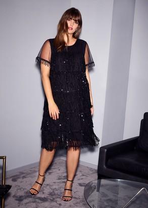 Phase Eight Matilda Sequin Fringe Dress