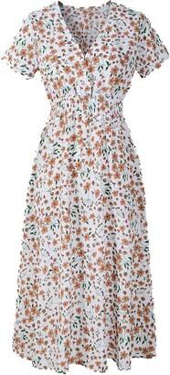 Kalorywee Dresses Midi Tea Dress Ladies
