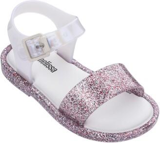 Mini Melissa Mar Glitter Jelly Sandal