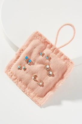Lavender Post Earring Set