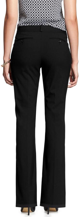 Banana Republic Factory Martin-Fit Black Pant