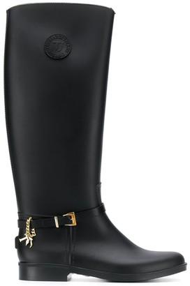 Trussardi Jeans Buckle Detail Boots