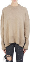 Givenchy Women's Hemstitched Alpaca Sweater-BEIGE, TAN