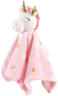Luvable Friends Baby Girl Plush Security Blanket