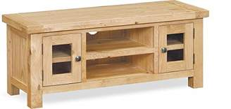 Global Home Products Collection 21 TV Unit, Wood, Brown, Large