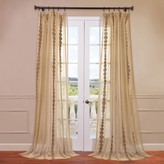 Eff EFF 1-Panel Cleopatra Embroidered Sheer Window Curtain