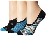 Vans Jet Bug Canoodles 3-Pack Women's Crew Cut Socks Shoes