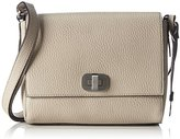 L.Credi Women's Mauritius Cross-Body Bag Grey Grau (stone)