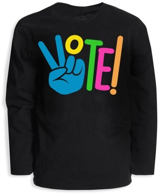Appaman Little Kid's & Kid's Vote Graphic Long Sleeve T-Shirt