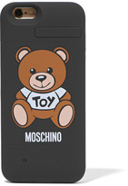 Moschino Silicone Iphone 6 Charging Case - Black