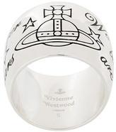 Vivienne Westwood saturn motif thick ring