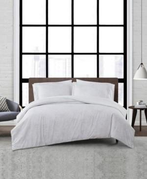 London Fog Sasha Paisley 3 Piece Comforter Set, Full/Queen Bedding