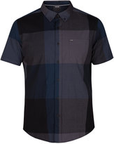 Hurley Men's Thompson Plaid Pocket Shirt