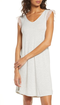 Nordstrom Moonlight Lace Trim Nightgown