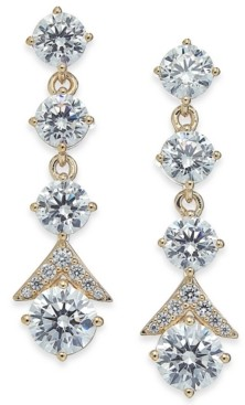 Eliot Danori Crystal Multi-Drop Earrings, Created for Macy's
