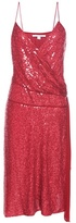 Diane von Furstenberg Brenndah Sequinned Silk Dress