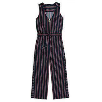 Tommy Hilfiger Women's Adaptive Romper with Extended Zipper