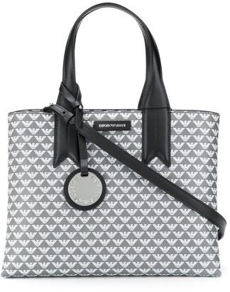 Emporio Armani Logo Print Tote Bag