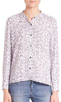 The Kooples Printed Button-Front Shirt