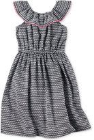 Carter's Geometric-Print Maxi Dress, Toddler Girls (2T-4T)