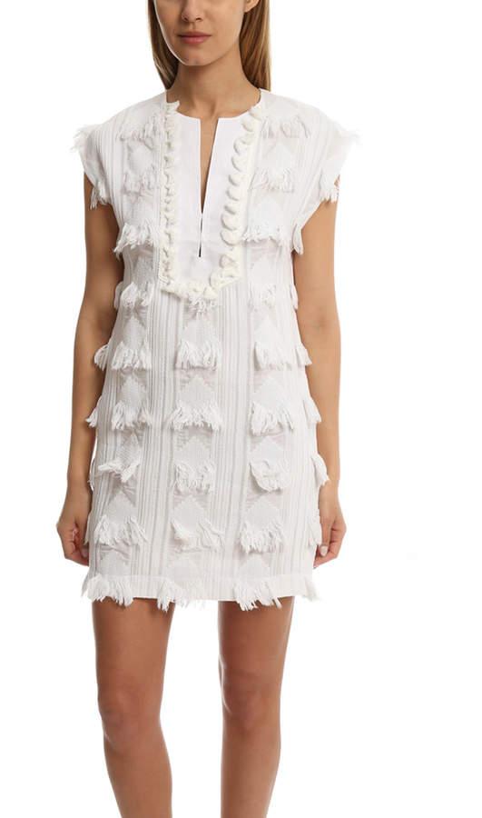 Derek Lam 10 Crosby Sleeveless Tunic Dress