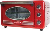 NostalgiaTM Electrics Retro Toaster Oven in Red