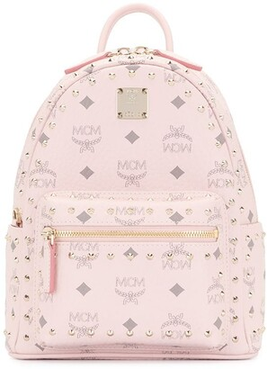 MCM Petite Monogram Backpack