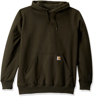 Carhartt Men's Big Big & Tall Rain Defender Paxton HW Hooded Sweatshirt