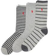 Polo Ralph Lauren Striped Trouser Sock 3-Pack