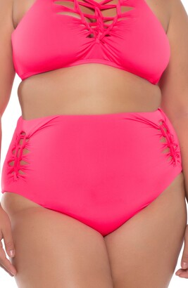 Becca Etc Slasher High Waist Bikini Bottoms