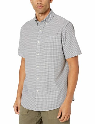 Chaps Men's Short Sleeve Easy Care Button Down Shirt