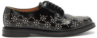 Noir Kei Ninomiya X Churchs Studded-leather Derby Shoes - Black