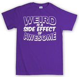 Customised Perfection Weird Awesome Geek Nerd Retro Funny T Shirt L