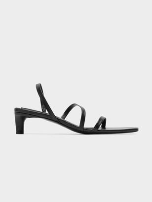 Jaggar Dainty Sandal in Black