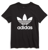 adidas Boy's Trefoil Graphic T-Shirt