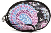 Vera Bradley Oval Shimmer Wristlet