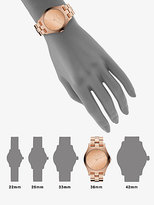 Marc by Marc Jacobs Henry Rose Gold Finished Stainless Steel Bracelet Watch/Rose Gold Dial