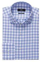 HUGO BOSS Jason Slim Fit, Cotton Dress Shirt 16 Blue