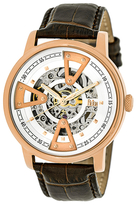 Reign Belfour Automatic Skeleton Dial Watch, 44mm