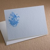 The Well Appointed House Blue Pagoda Toile Gift Enclosure Cards - IN STOCK IN OUR GREENWICH STORE FOR QUICK SHIPPING