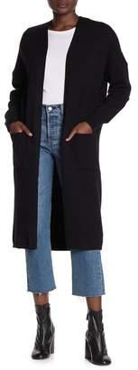 Honey Punch Slip Pocket Long Cardigan