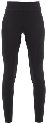 Vaara Lillie High-rise Technical Jersey Leggings - Womens - Black Multi
