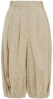 Tibi Donegal Tweed Shorts