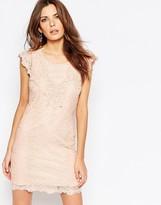 Vila Cutwork Lace Bodycon Dress