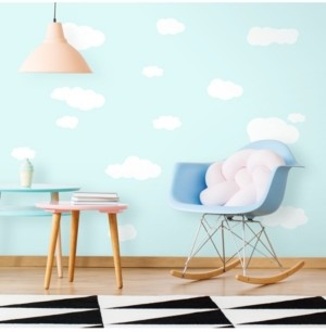 York Wall Coverings York Wallcoverings Clouds Peel and Stick Wall Decals