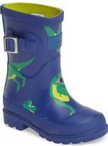 Joules Welly Print Waterproof Rain Boot (Walker, Toddler & Little Kid)